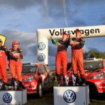 Toyota clean sweep on Volkswagen Rally