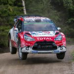 Meeke flies to Finland win