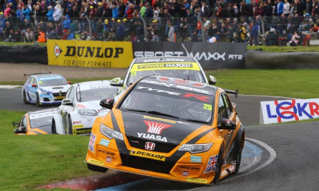 Experience pays off at Knockhill