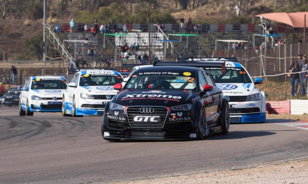 Clean sweep for Stephen at inaugural Sasol GTC Championship event