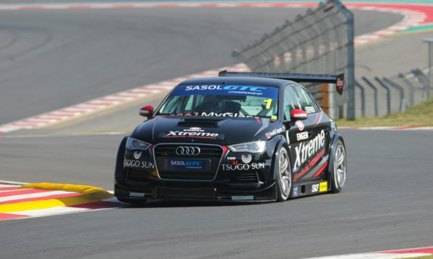 Stephen on pole at Kyalami