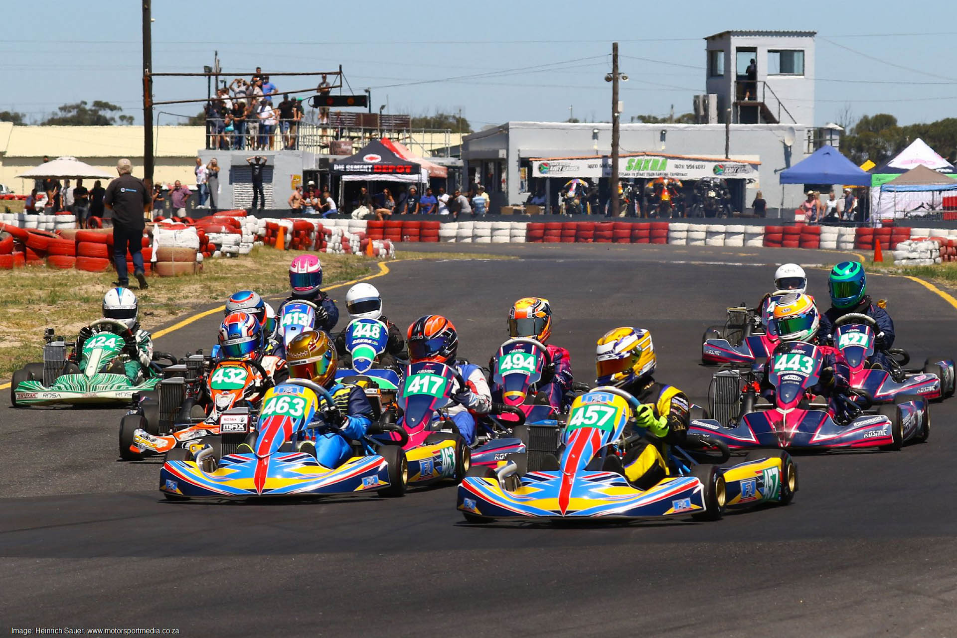 Charl Visser leads the way in Junior Max